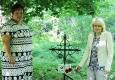 Возложение цветов на могилу майора Бочарова Михаила Петровича, погибшего 27 июня 1944 г. при освобождении Лепельского района