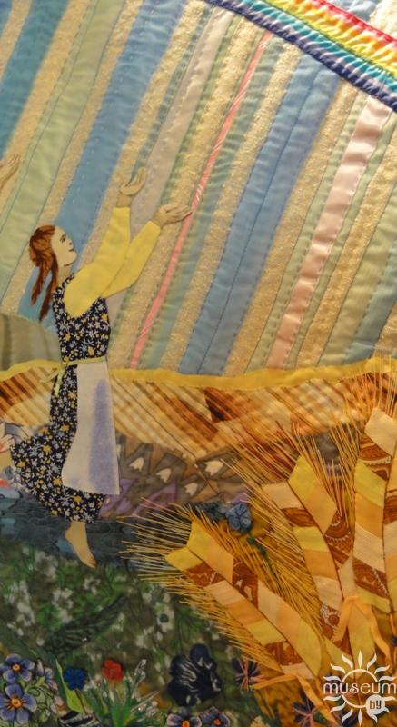ГРАНІ. Выстаўка ў Музеі традыцыйнага ручнога ткацтва Паазер'я. Полацк