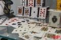"""Часть экспозиции """"Карточный домик"""""""