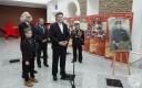 В. И. Прокопцов передал в дар картину А.В.Трескина с изображением вице-адмирала В.П. Дрозда